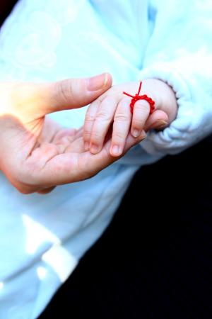 赤ちゃん結い紐